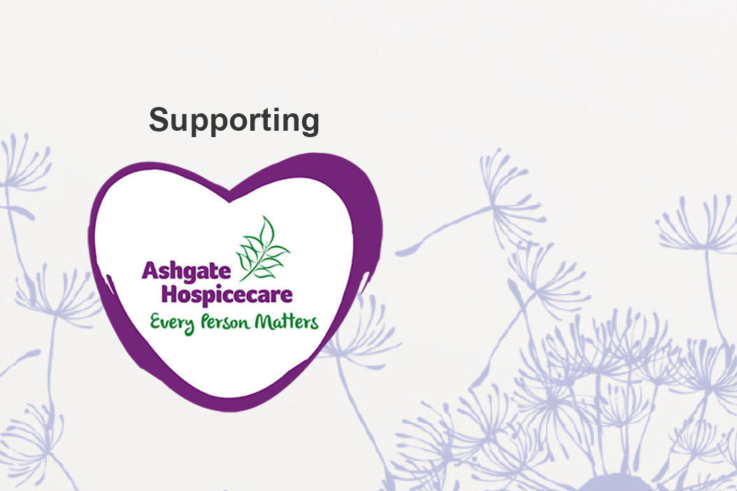 ashgate hospicecare website page banner