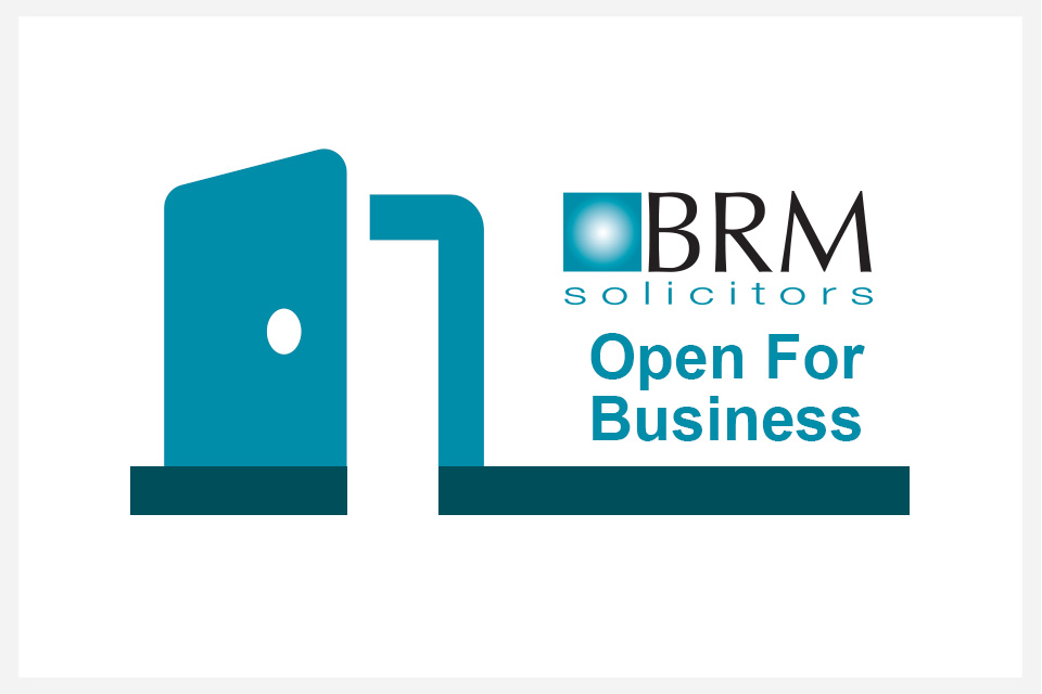 brm solicitors open for business